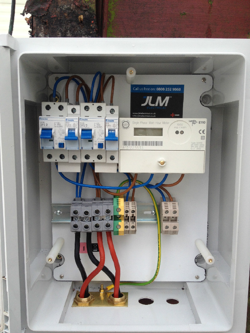 Uk Electric Meter Box Not Lossing Wiring Diagram Jlm Electrical Caravan Rh Jlmelectrical Co Height Regulations